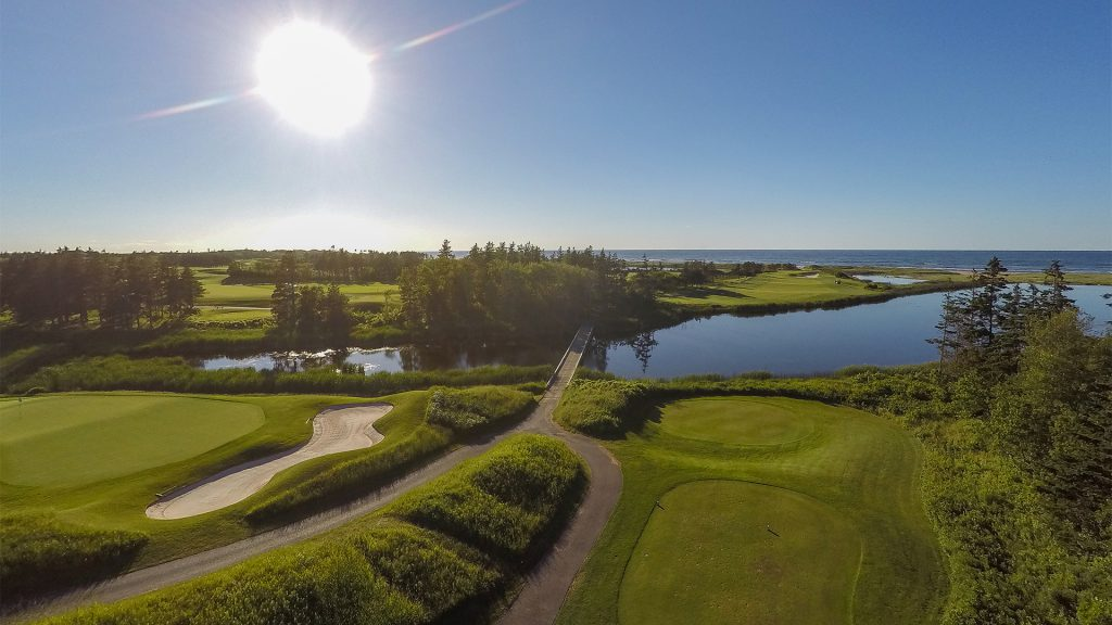 Golf Course PEI | Odyssey Virtual | Aerial Drone Photography/Photographer