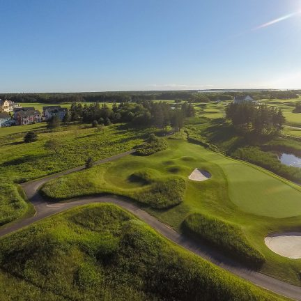 PEI Golf Course Marketing and Drone Photography